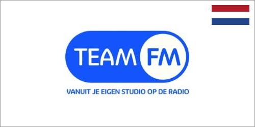 6 maart 2020<br />Team FM breidt dekking via DAB+ uit in Noordoost-Nederland
