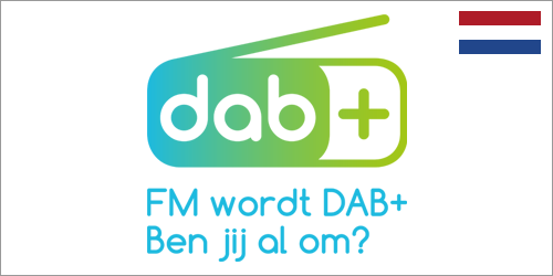 22 maart 2021<br />FM wordt DAB+. Ben jij al om?